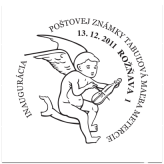 Inaugurácia poštovej známky Tabuľová maľba Metercie z Rožňavy