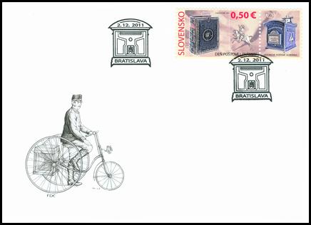 Deň poštovej známky: Historická poštová schránka