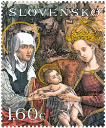 ART: Panel Painting of Metercia from Rožňava