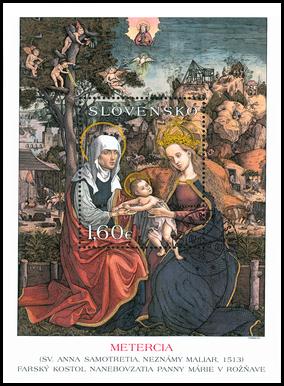UMENIE: Tabuľová maľba Metercie z Rožňavy