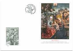 Special Cover: Panel Painting of Metercia from Rožňava
