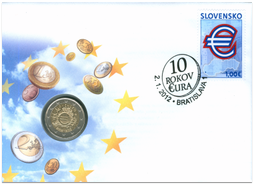 Numismatic Cover: 10 Years of Euro