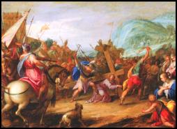 Easter 2012 – Hans von Aachen: Carrying the Cross