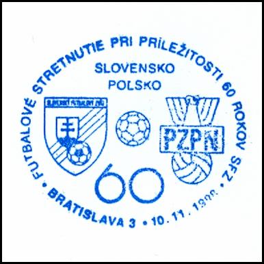 """""""Futbalové stretnutie pri príležitosti 60rokov SFZ Slovensko-Poľsko"""""""
