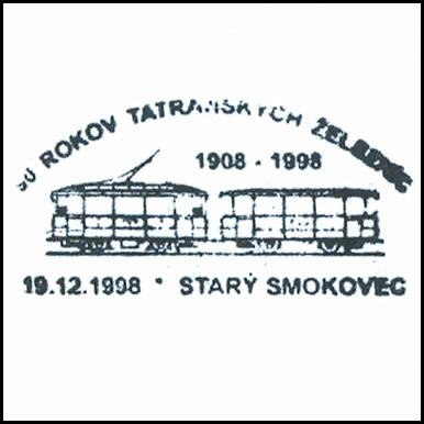 """""""90 rokov Tatranských železníc"""""""