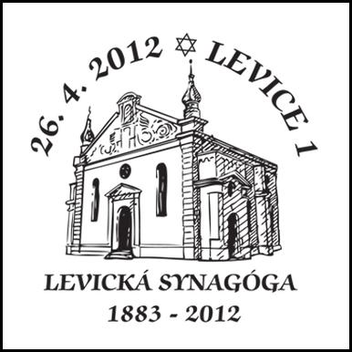 Levická synagóga 1883 - 2012