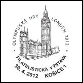 Filatelistická výstava Olympijské hry Londýn 2012