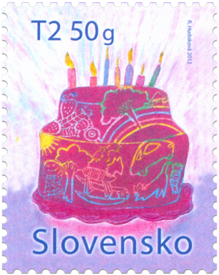 International Children's Day- Stamp with personalized coupon