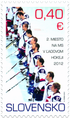 2nd Place in the World Ice Hockey Championship 2012