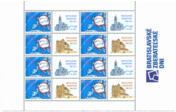 Print Sheet of Stamp with personalized coupon - Bratislava Collectors Days 2012