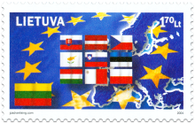 Entry to the EU - Lithuania (2 stamps)