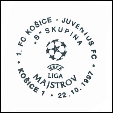 """""""1. FC Košice-Juventus FC liga majstrov """"B"""" skupina"""""""