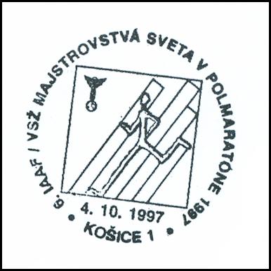 """""""6.IAAF/VSŽ Majstrovstvá sveta v polmaratóne 1997"""""""