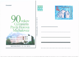 90th Anniversary of Pavel Horov´s Gymnasium in Michalovce