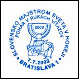 Slovensko majstrom sveta v hokeji - pohár v rukách víťazov