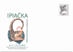 Igor Piačka: Ilustrations and Postage Stamps