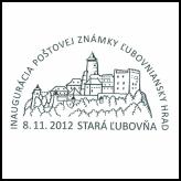 Inaugurácia poštovej známky Ľubovniansky hrad