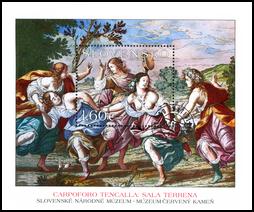 Umenie – Carpoforo Tencalla: Sala Terrena na hrade Červený Kameň