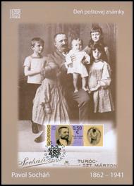 Deň poštovej známky: Pavol Socháň (1862 – 1941)