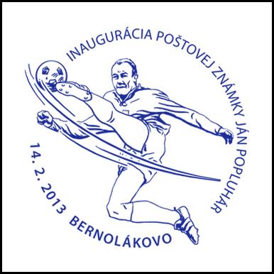 Inaugurácia poštovej známky Ján Popluhár (1935 - 2011)