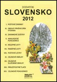 Dodatok katalógu Slovensko 2012
