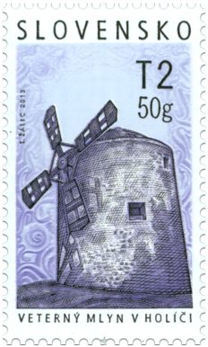 Technical Monuments: Historical Mills - Windmill in Holíč