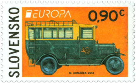 EUROPA 2013: Postal Vehicle