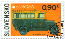 EUROPA 2013: Postal Vehicle