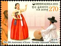 Spoločné vydanie s Kóreou: Národné kroje - Epický spev Pansori