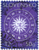 Stamp with personalised coupon - Zodiac