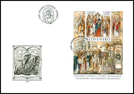 Špeciálna obálka: 1150. výročie príchodu sv. Cyrila a Metoda na Veľkú Moravu