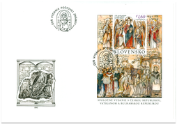 Special Cover: The 1150th Anniversary of the Arrival of St. Cyril and Methodius to Great Moravia
