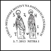 Cyrilo-metodské motívy na poštových známkach
