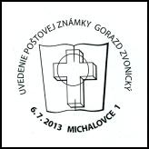 Uvedenie poštovej známky Gorazd Zvonický