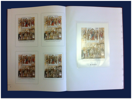 """Knižná publikácia: """"1150. výročie príchodu sv. Cyrila a Metoda na Veľkú Moravu"""""""