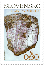 Nature Protection: Slovak Minerals - Precious Opal from Dubnik