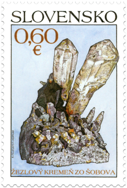 Nature Protection: Slovak Minerals – Sceptre Quartz from Šobov