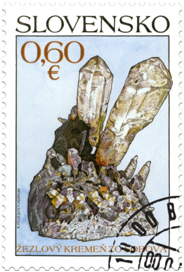 Nature Protection: Slovak minerals - Sceptre Quartz from Šobov