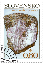 Nature Conservation: Slovak Minerals – Precious Opal from Dubník