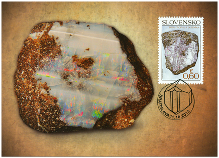 Ochrana prírody: Slovenské minerály – Drahý opál z Dubníka