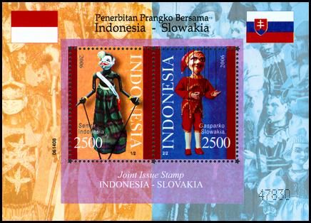 Spoločné vydanie Indonézia - Slovensko /HA