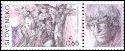Postage Stamp Day: Hommage à Igor Rumanský (1946 – 2006)