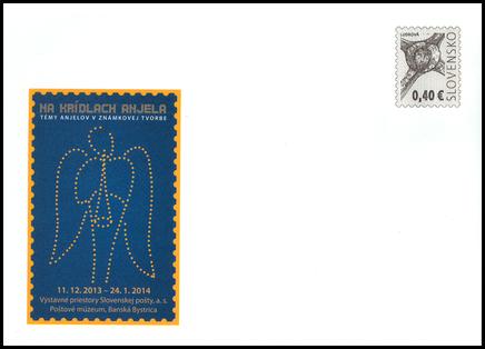 Výstava Poštového múzea - Na krídlach anjela