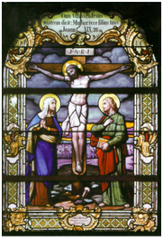 Easter 2014: Crucifixion – Stained Glass Windows of Romanticism