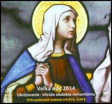 Veľká noc 2014: Ukrižovanie – vitráže obdobia romantizmu