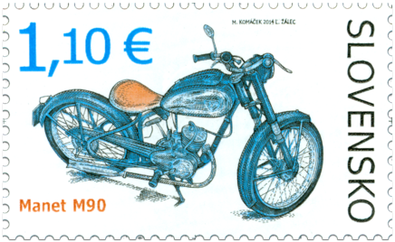Technical Monuments: Historic Motorcycles – Manet M90