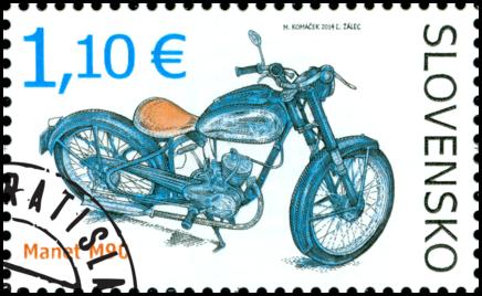 Technické pamiatky: Historické motocykle – Manet M90