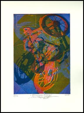 "Engraving ""Petrol Brothers"""