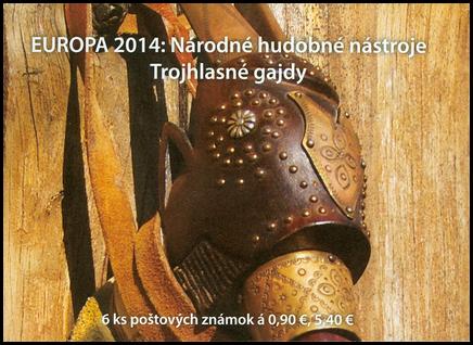 EUROPA 2014: Národné hudobné nástroje – Trojhlasné gajdy