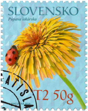 Postage Stamp with a Personalised Coupon: Medicinal Plants